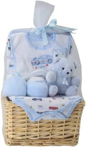 Big Oshi Baby Essentials 9-Piece Layette Basket Gift Set