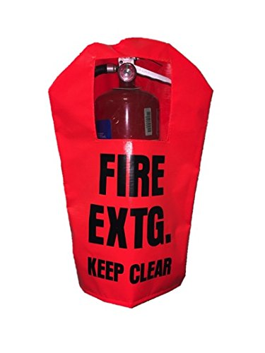 FIRE EXTINGUISHER COVER (PEK 350) WITH WINDOW - Large, fits 10-20 lb extinguishers (1)