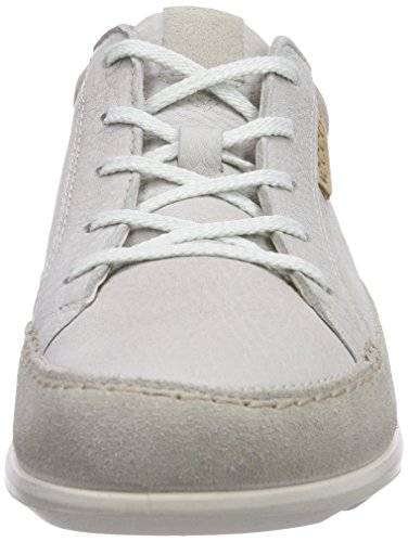 Blanc white quarry Ecco Mode Cayla Femme gravel Baskets nIw0gT0Y8