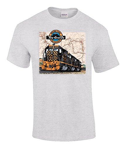 Rio Grande Tunnel Motors Authentic Railroad T-Shirt Adult X-Large [10027]