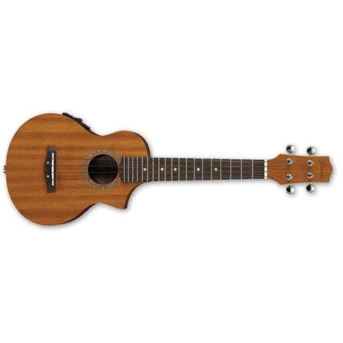 Ibanez UEW5E All Mahogany Concert Acoustic-Electric Ukulele Natural by Ibanez