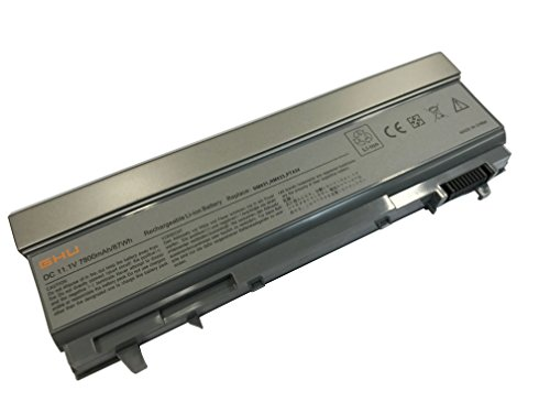 Price comparison product image GHU Battery 87 Wh Replacement for KY265 KY266 PT434 PT435 PT436 4M529 KY477 Compatible with Dell Latitude Laptop E6400 E6410 E6510 E6500 312-0748 312-0749 W0X4F W1193 KY477 4M529 4N369 FU268 W1193