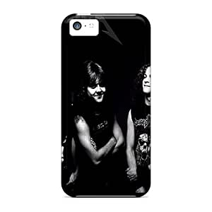 Kvx17380QTxu Anti-scratch Cases Covers ChrismaWhilten Protective Metallica Cases For Iphone 5c