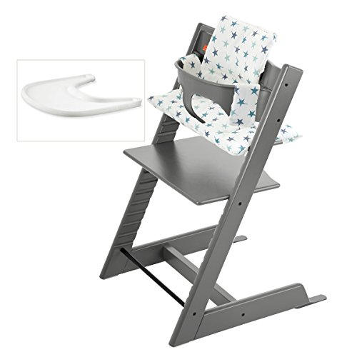 Stokke tripp trapp high chair complete 4 bundle stokke for Chaise haute tripp trapp occasion