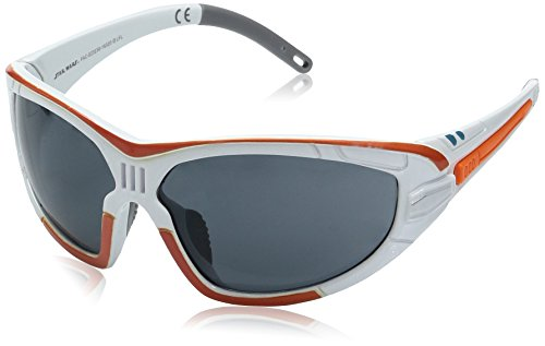Foster Grant Bb8 Droid Star Wars Wrap Sunglasses, Shiny White with Orange, 61 - Wars Sunglasses Foster Grant Star