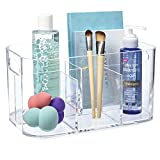STORi Bliss 5-Compartment Plastic Organizer | Clear