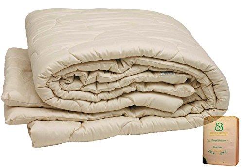Certified Organic Wool - Pure Rest Certified Organic Merino Wool Comforter King