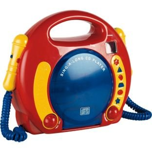 Perfect gift.My First Sing Along Kids CD Player.
