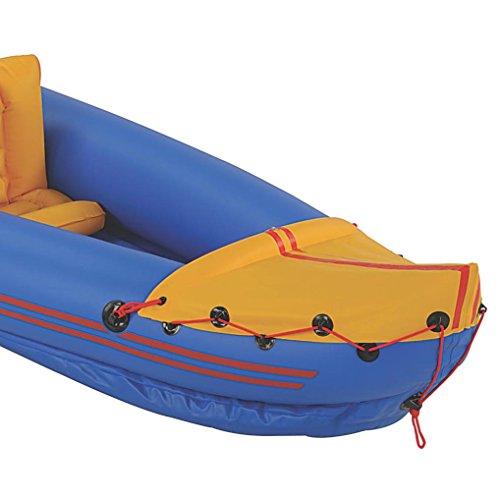 Coleman inflatable sevylor rogue 2 person kayak masterbasser for Sevylor coleman colorado 2 person fishing kayak