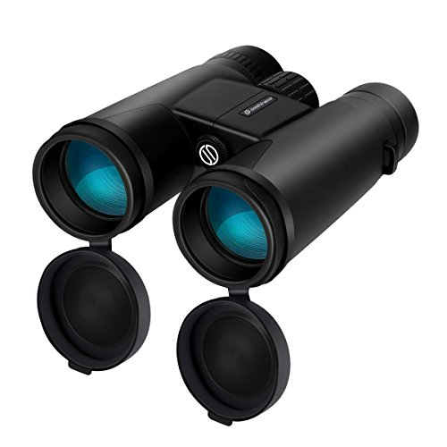 Binocular for Adults,Szeshineco 12x42 Binocular Telescopes, HD Binoculars for Bird Watching,Hunting,Outdoor, BAK4 Roof Prism Large Field Quick Focus, Waterproof,With Carry bag and Neck Strap