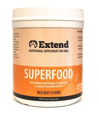 Extend – Superfood for Dogs – 1 Month Supply – Antioxidant Supplement – 100% Review