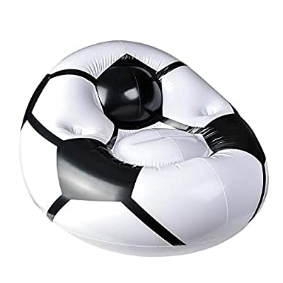 Rhode Island Novelty 45 Inch by 44 Inch by 25 Inch Inflatable Soccer Ball Chair One Chair: Toys & Games