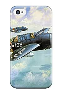 3534204K40828819 For Iphone 4/4s Protector Case Aircraft Phone Cover