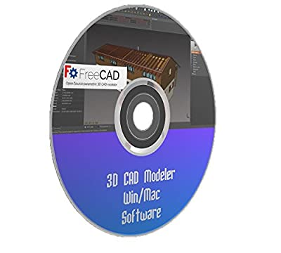 3D CAD Modeler Parametric Design Software Printing Windows Mac PC FREECAD