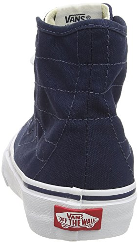 Vans Unisex U Decon Blues True Scarpe Hi Blu White Dress da Sk8 Alte Ginnastica Canvas r8gnqwrSx
