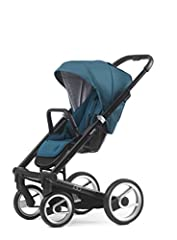 Discover the Igo, Mutsy's newest luxury stroller. A delight to use and stroll with, for both the parents and their children. The Igo is suitable from birth as the seat can be reclined fully to a totally flat sleeping position. This ensures yo...