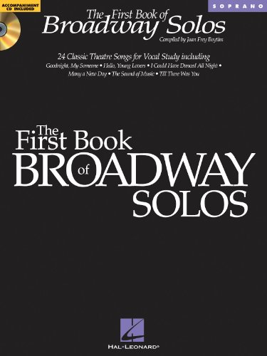 The First Book of Broadway Solos - Soprano BK+CD