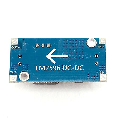 uxcell LM2596S DC-DC Adjustable Power Supply Step Down Module Bochen 3296 by uxcell (Image #2)