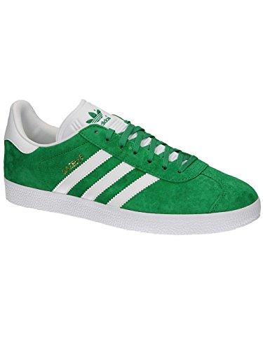 adidas Gazelle Scarpe da Verde Bianco Unisex Adulto Ginnastica 1vU8xn1