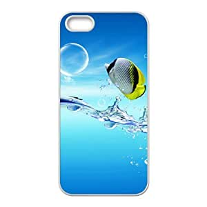 3D bubble fish For SamSung Note 2 Phone Case Cover White