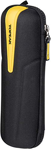 Topeak CagePack XL Bicycle Water Bottle Cage Tool Pack (Black w/Yellow Strap) (Best Mtb Pump 2019)