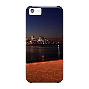 Hot New Cityscapes At Night 3 Case Cover For Iphone 5c With Perfect Design Kimberly Kurzendoerfer