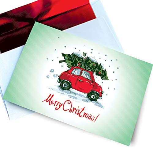 Funny Christmas Cards Holiday Vintage product image