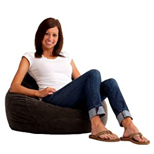 Comfort Research Ultra Lounger in Comfort Suede, Black Onyx