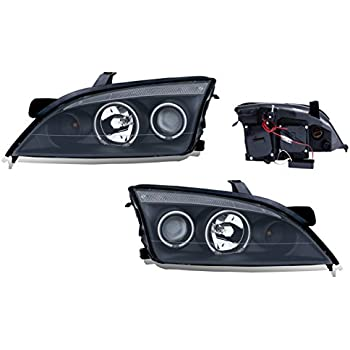 amazon com ford focus zx4 05 07 projector headlights 4dr halo black rh amazon com Used Ford Wiring Harness Used Ford Wiring Harness