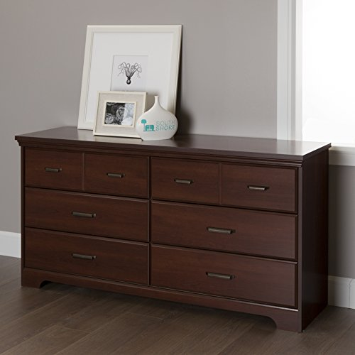 Double Cherry (South Shore Versa 6-Drawer Double Dresser, Royal)