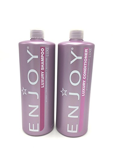 Enjoy Hair Care - 33.8 Ounce Luxury Duo Shampoo and Conditioner (Elite Hair Products)