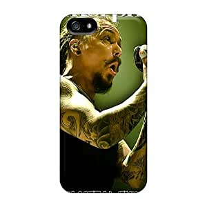 Durable Hard Phone Covers For Iphone 5/5s (OUp11152qWrk) Customized Attractive Amorphis Band Image
