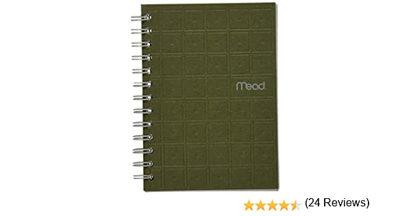 com mead spiral notebook college ruled paper sheets  com mead spiral notebook college ruled paper 80 sheets 7 x 5 recycled assorted colors 45186 wirebound notebooks office products