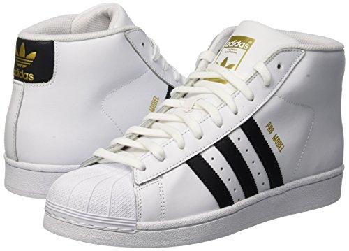 Pour Model Hommes Adidas Blanc Negbas ftwbla Sneakers Ftwbla Pro wfZqOUH
