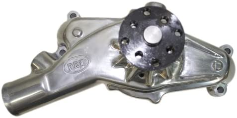 PRW 1445412 Performance Quotient Polished 3//4 Pilot Shaft High Flow Short-Style Aluminum Water Pump for Chevy Corvette BB 1971-74