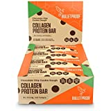 Bulletproof Collagen Protein Bars, Perfect Keto Diet Snack Bar For Men And Women (Cookie Dough)