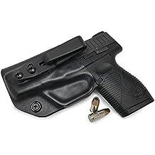 Concealment Express Taurus PT709 Slim Tuckable Ambidextrous IWB KYDEX Holster - Custom Fit - US Made - Inside Waistband - Fully Adjustable