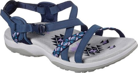 01bf71159bc Image Unavailable. Image not available for. Colour  Skechers Women s Reggae  Slim Vacay Sandal