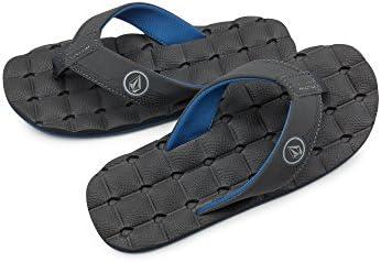 New Blue Combo Volcom Boy/'s Recliner Sandal