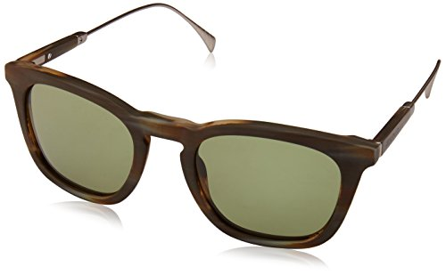 Tommy Hilfiger Th1383s Wayfarer Sunglasses, Horn Gold/Green, 51 - 2016 Dj Sunglasses