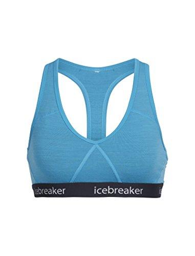Icebreaker Sprite Racerback - Sujetador con un solo tirante en la espalda Capri/Stealth