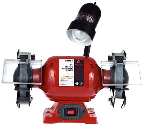 "6"" Bench Grinder with Light"