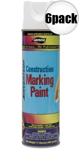 Aervoe Marking Paint (Aervoe 255 Construction Marking Paint, White)
