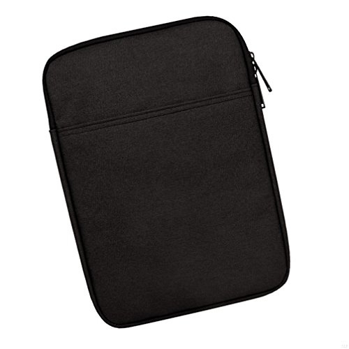 SLBGADIEME Pouch Tablet Zipper Sleeve 10 Ipad Carrying Case Notebook Bag 10 Inch Notebook Tablet Bag Laptop 10 Bag Zipper Case With Pockets 10 Tablet Carrying Case Notebook Zipper Bag Black 10 Inch