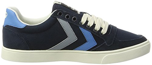 Hummel Unisex-Erwachsene SL. Stadil Duo Canvas Low Top Blau (Total Eclipse)