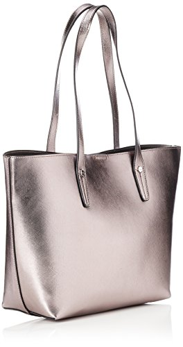 L.Credi Palma - Shoppers y bolsos de hombro Mujer Gris (Gun)