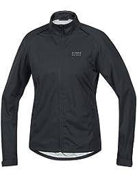 Women's Rain Cycling Jacket, Light, GORE-TEX Active, LADY GT AS Jacket, Size XS, Ink Blue/Scuba Blue, JGLELE