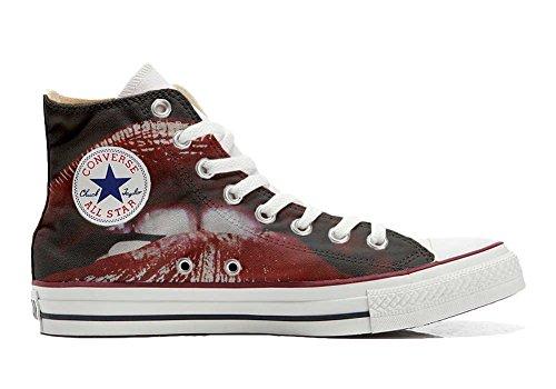 Italien chaussures Hi Star Imprimés Personnalisé produit Lips Converse Sneaker All Unisex coutume et artisanal YPqwWfa