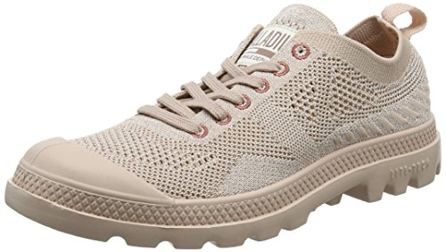 Lite L85 rose Donna Knit Dust Dust Oxford Sneaker Rosa Palladium Pampa rose aqBEHH