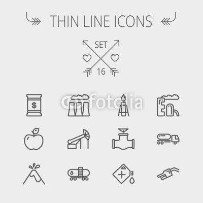 adrium Ecology Thin Line Icon (82008669), Forex, 40 x 40 cm ...
